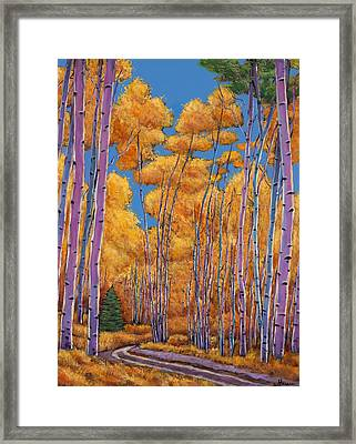 Country Corner Framed Print by Johnathan Harris