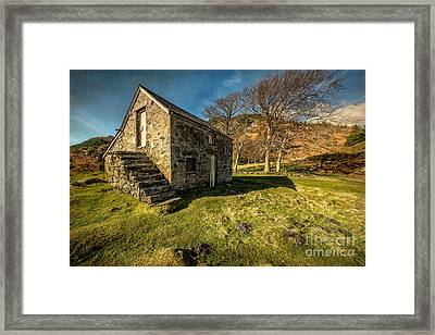 Country Cottage Framed Print by Adrian Evans