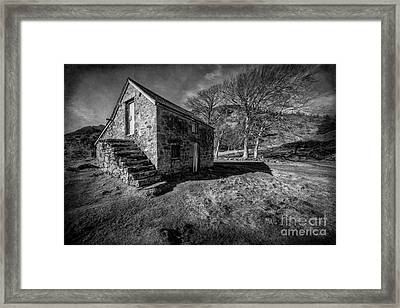 Country Cottage V2 Framed Print by Adrian Evans