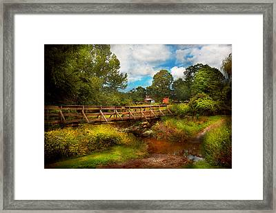 Country - Country Living Framed Print by Mike Savad