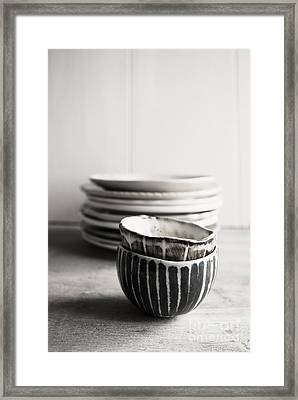 Country Cupboard Framed Print by Elena Nosyreva