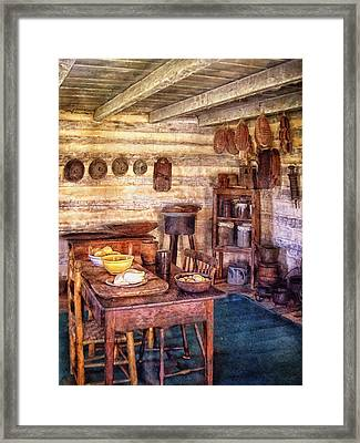 Country Dining Framed Print