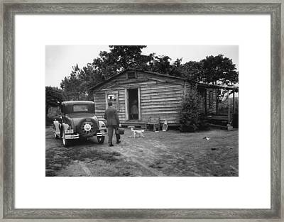Country Doctor Framed Print