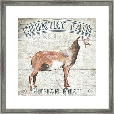Country Fair Framed Print