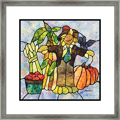 Country Fall Framed Print
