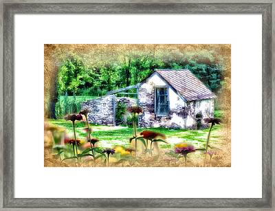 Country Garden Framed Print by Bill Cannon