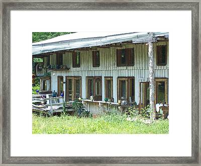 Country Gazing Framed Print