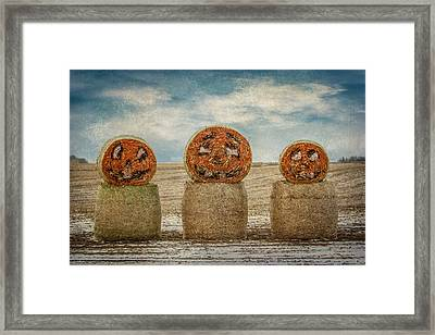 Country Halloween Framed Print