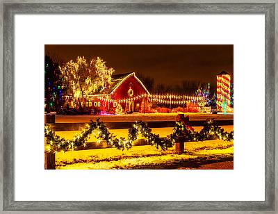 Country Holiday Framed Print by Teri Virbickis