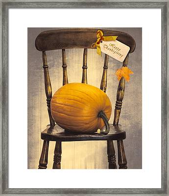 Country House Chair Framed Print