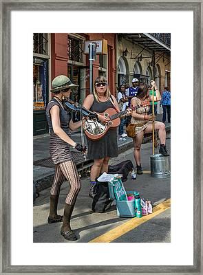 Country In The French Quarter Framed Print by Steve Harrington