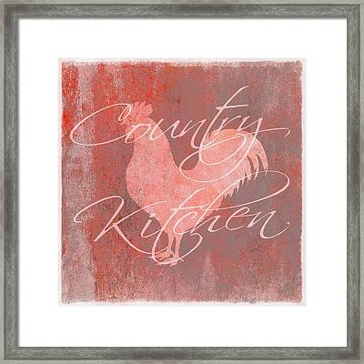 Country Kitchen Framed Print by Cora Niele