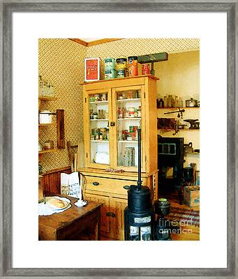 Framed Print featuring the painting Country Kitchen Sunshine IIi by RC deWinter