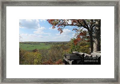 Country Life All Profits Go To Hospice Of The Calumet Area Framed Print