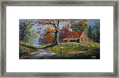 Country Life Framed Print by Gary Adams