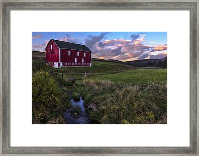 Country Life Framed Print by James Black