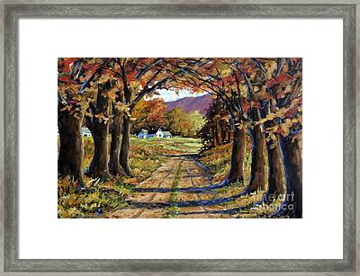 Country Livin  Framed Print