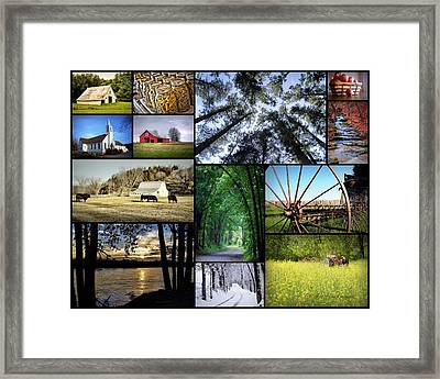 Country Living Framed Print by Cricket Hackmann