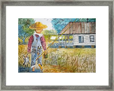 Country Living Framed Print by Don Hand