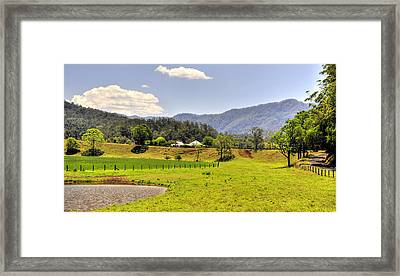 Country Living Framed Print by Terry Everson