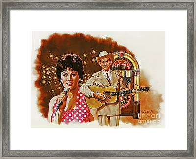 Country Magic Framed Print by Dick Bobnick