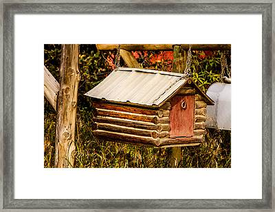 Country Mail Framed Print
