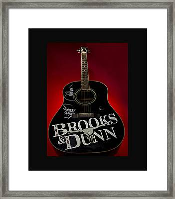 Country Music Symbol Framed Print by Honour McLeod