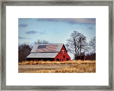 Country Pride Framed Print