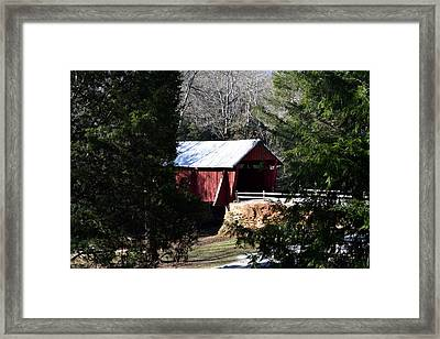 Country Red  Framed Print