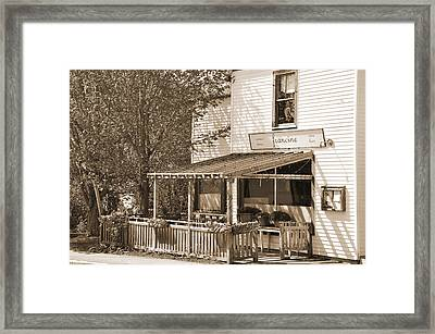Country Restaurant Framed Print