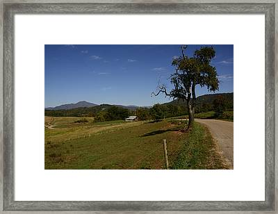 Country Road Framed Print by Michael Gooch
