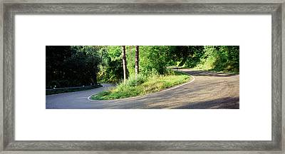 Country Road Southern Germany Framed Print by Panoramic Images