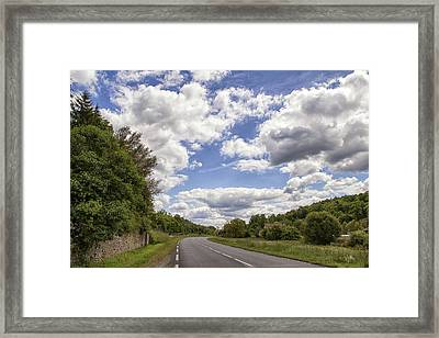 Country Roads Framed Print by Georgia Fowler