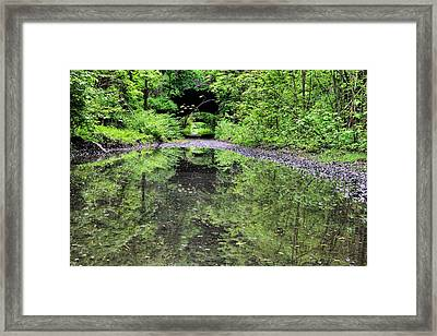 Country Roads In The City Framed Print by JC Findley