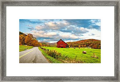 Country Road...west Virginia Framed Print by Steve Harrington