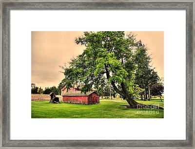 Country Scene Framed Print by Kathleen Struckle
