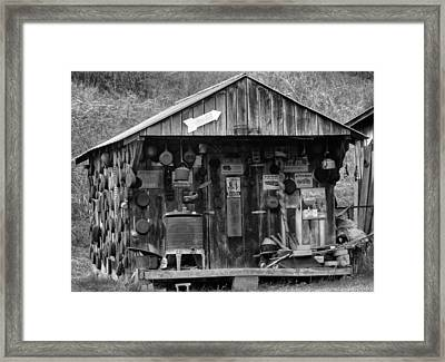 Country Shack Framed Print