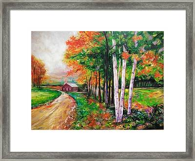 Country Side Framed Print by Emery Franklin
