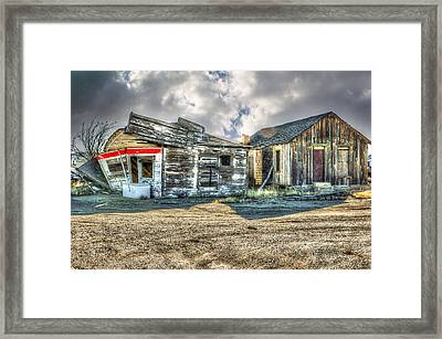 Country Stand Framed Print by Mary Timman