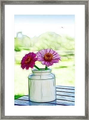 Country Still Life Framed Print