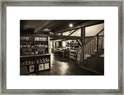 Framed Print featuring the photograph Country Store by Bill Howard