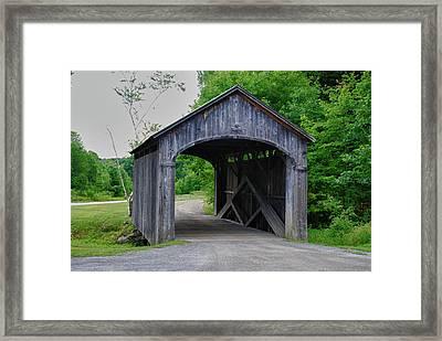Country Store Bridge 5656 Framed Print