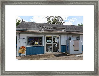 Country Store Framed Print