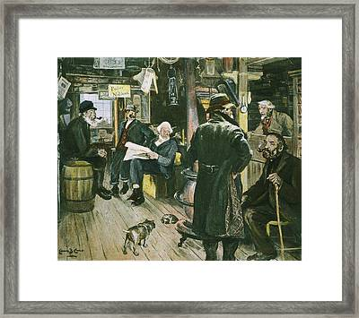 Country Store Framed Print by Granger