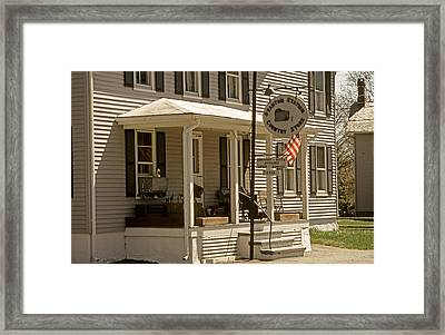 Country Store Framed Print by Skip Willits