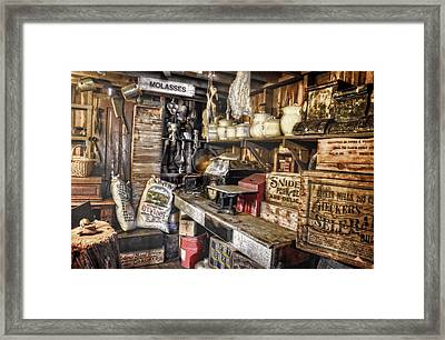 Country Store Supplies Framed Print by Ken Smith