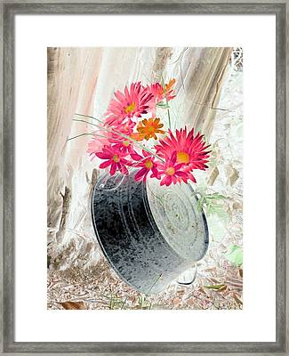 Country Summer - Photopower 1499 Framed Print by Pamela Critchlow