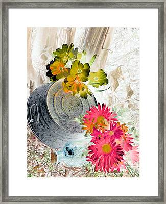 Country Summer - Photopower 1509 Framed Print by Pamela Critchlow