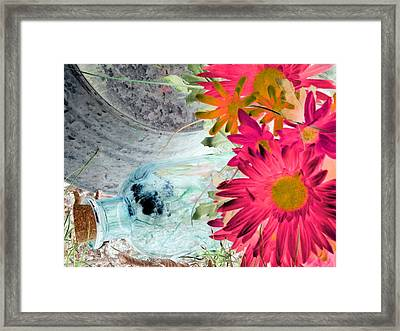 Country Summer - Photopower 1510 Framed Print by Pamela Critchlow