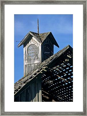 Country Sunroof Framed Print